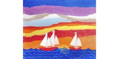 Summer Sand Paintings
