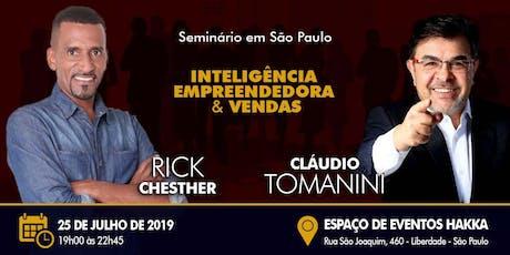 -- Seminário Empresarial -- RICK CHESTHER & CLAUDIO TOMANINI ingressos