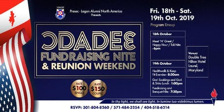 Presec-Odadee North America Chapter Fundraising Nite tickets