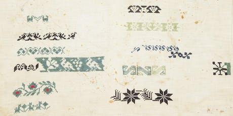 Textile Teach-in: Cross Stitch Workshop tickets