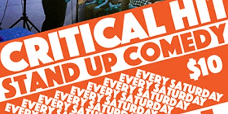 Critical Hit! Live Stand Up With Special Guest Chris Thayer tickets