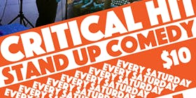 Critical Hit! Live Stand Up With Special Guest Chris Thayer