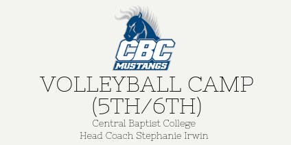 Volleyball Camp (Upcoming 5th/6th Graders)