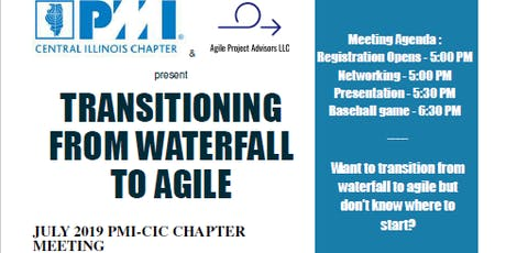 TRANSITIONING FROM WATERFALL TO AGILE tickets