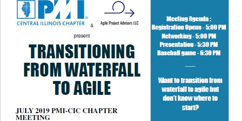 TRANSITIONING FROM WATERFALL TO AGILE