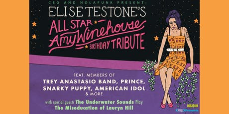 Elise Testone's All-Star Amy Winehouse Birthday Tribute tickets