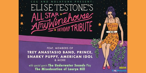 Elise Testone's All-Star Amy Winehouse Birthday Tribute