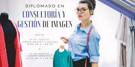 Diplomado en Consultoría y Gestión de Imagen boletos