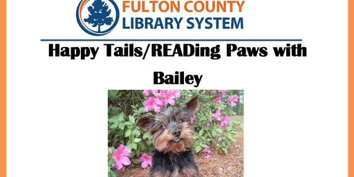 Happy Tails/READing Paws with Bailey