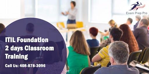 ITIL Foundation- 2 days Classroom Training in Casper,WY