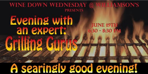 WDW ~ Evening with an Expert: Grilling Gurus