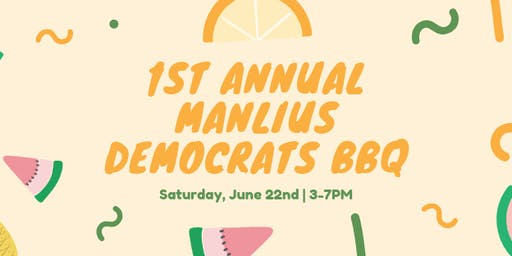 1st Annual Manlius Democrats BBQ