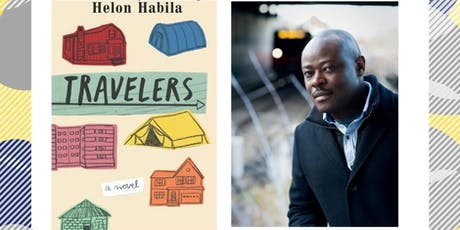 Helon Habila and his book Travelers: Reading & Signing tickets