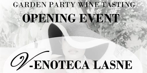 Garden Party: opening event V-Enoteca Lasne
