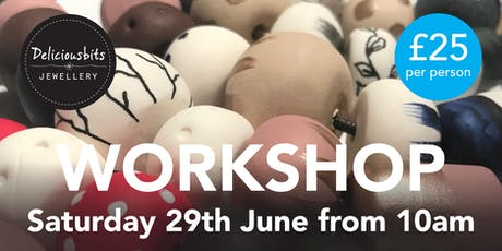 Painted Clay Bead Workshop tickets
