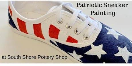 Patriotic Sneaker Painting tickets