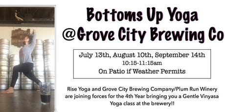 Bottoms Up Yoga  tickets