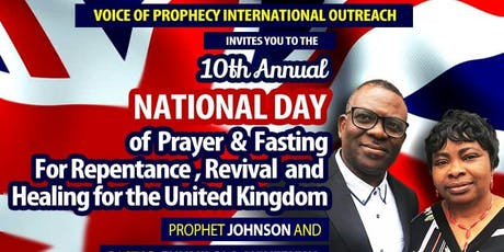 National Day of Prayer & Fasting tickets
