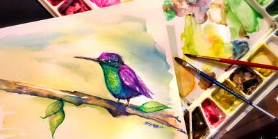 Love Watercolor,  a 6-week course in Basic Watercolor