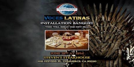 Voces Latinas Banquet tickets