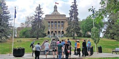 Alberta Legislature Evening Grounds Tour