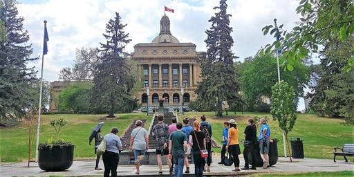 Alberta Legislature Evening Grounds Tour