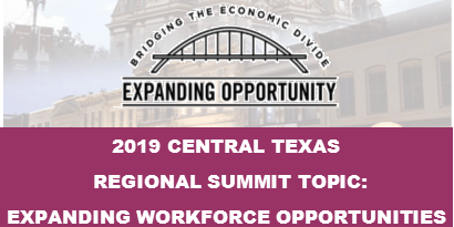 Central Texas Regional Summit: Expanding Workforce Opportunities