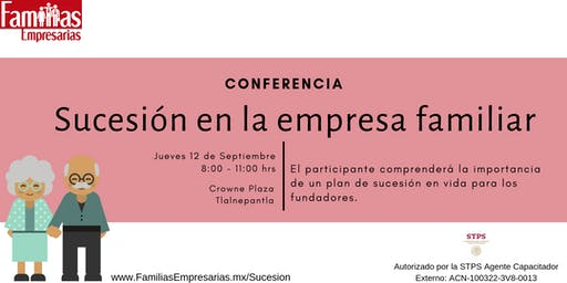 Conferencia: Sucesión de la empresa familiar
