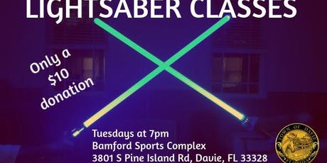 Lightsaber Classes tickets