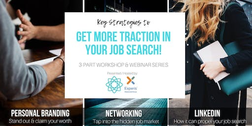 Key Strategies to Get Traction in Your Job Search - 3 Part - ZÜRICH Workshops & Networking Apero at Experis Recruitment Agency