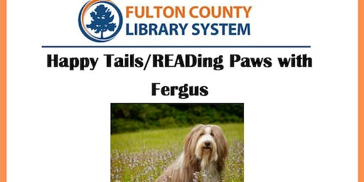 Happy Tails/READing Paws with Fergus
