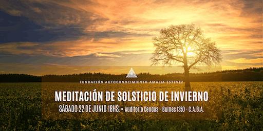 Meditación de Solsticio de Invierno 2019