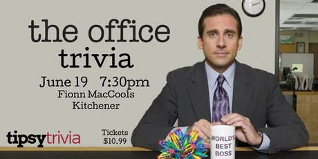 The Office Trivia - Fionn MacCools June 19th 730pm tickets