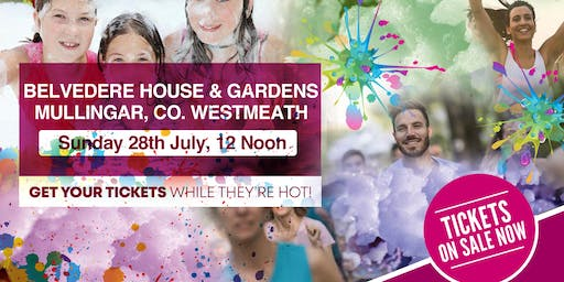 Bubbly Colour Run -Belvedere House, Mullingar