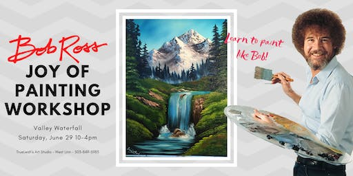 Bob Ross Joy of Painting Workshop - Valley Waterfall