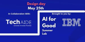 AI For Good - Design Day