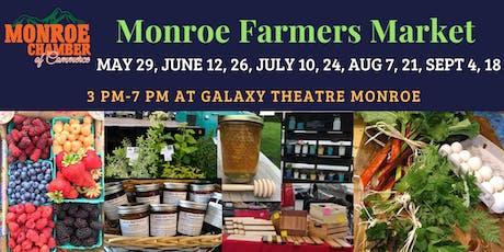 Monroe Farmers Market tickets