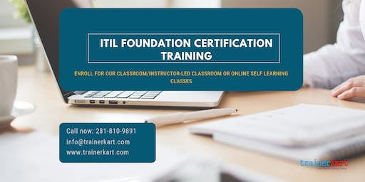 ITIL Foundation Classroom Training in Charlottesville, VA