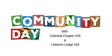 SpringFling Community Day with Celestial Chapter #29  & Lebanon Lodge #54 tickets