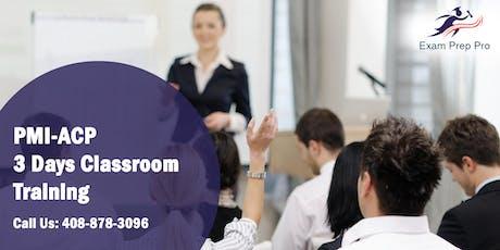 PMI-ACP 3 Days Classroom Training in Miami,FL tickets