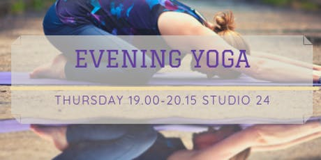 Yoga with Lis - Evening Hatha Yoga Class tickets