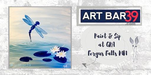 Art Bar 39 Paint & Sip at Great River Arts | Little Falls MN