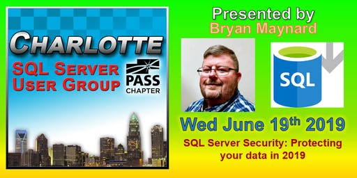 Charlotte SQL Server User Group - Wed June 19th - Meeting Invitation and RSVP
