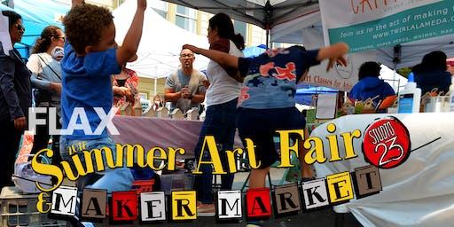 Alameda Summer Art Fair & Maker Market