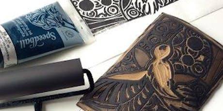 Basic Linocut Printmaking with Michelle Wiebe  tickets