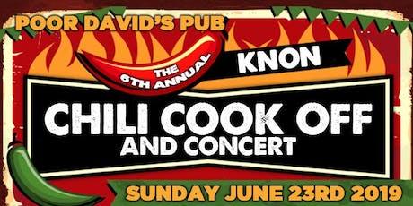 KNON's 6th Annual Chili Cook Off tickets