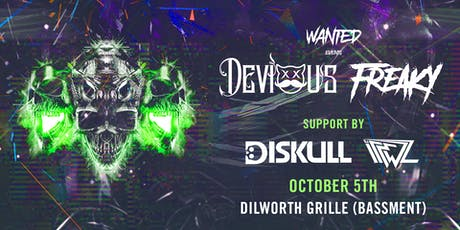 WANTED Events Present: THE AFTERPARTY ft. DEVIOUS & FREAKY tickets