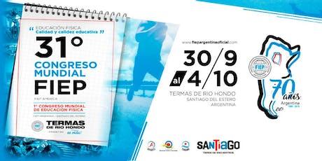 1° Congreso Mundial de Educación Física entradas