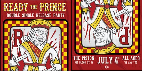 Ready the Prince double single release party tickets
