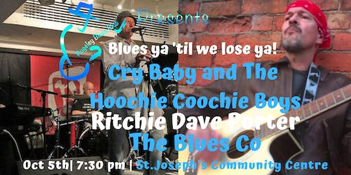 Cry Baby & the Hoochie Coochie Boys,Ritchie Dave Porter,Blues Co